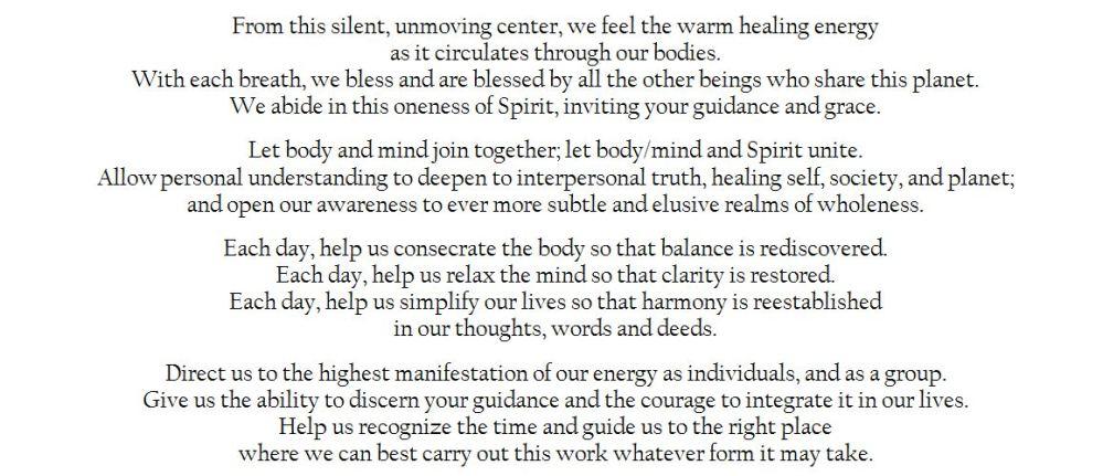 Prayer for Unfolding Light - Paul Ferrini (2/3)