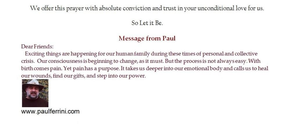 Prayer for Unfolding Light - Paul Ferrini (3/3)