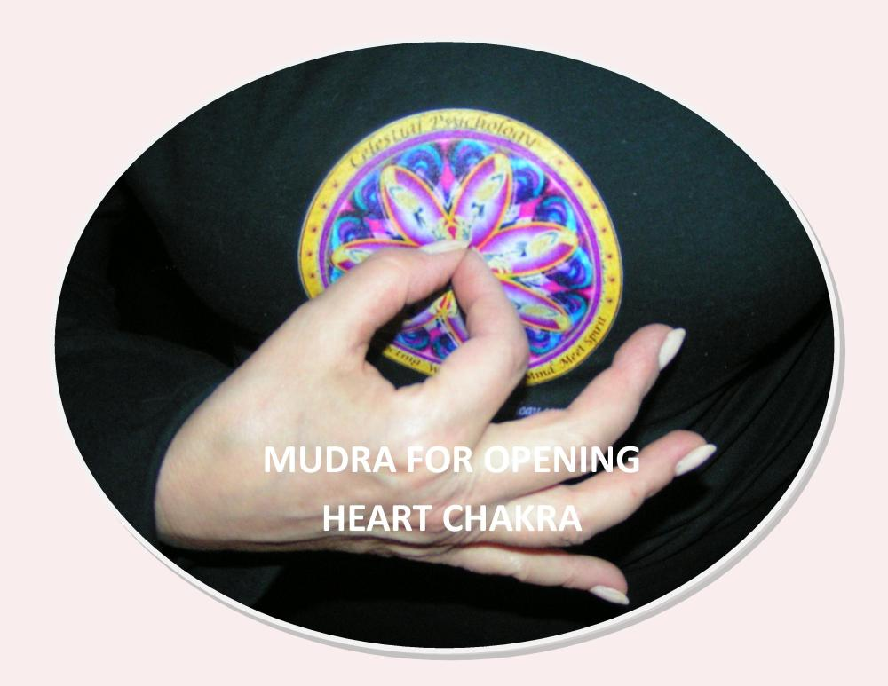 Images & Instructions for Meditation with Mudras for Chakras One - Seven by Celeste :-) (4/6)