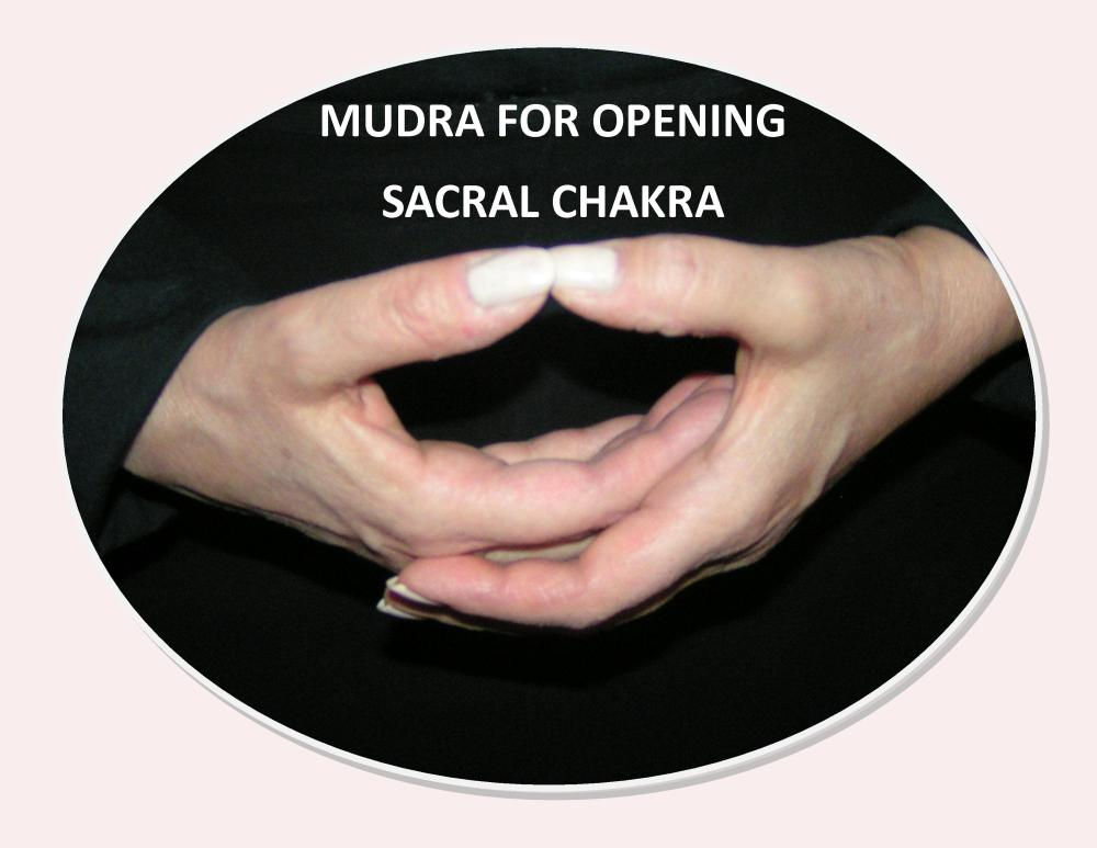 Images & Instructions for Meditation with Mudras for Chakras One - Seven by Celeste :-) (2/6)
