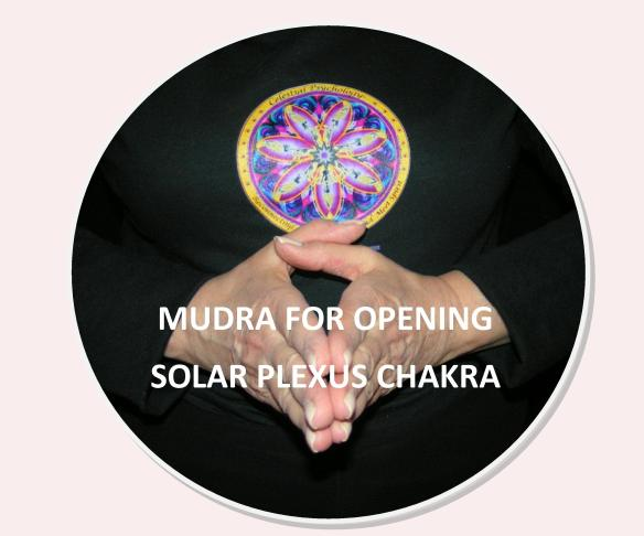 Images & Instructions for Meditation with Mudras for Chakras