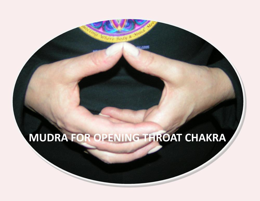 Images & Instructions for Meditation with Mudras for Chakras One - Seven by Celeste :-) (5/6)